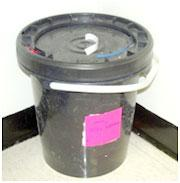 Photo of Aerosol collection container