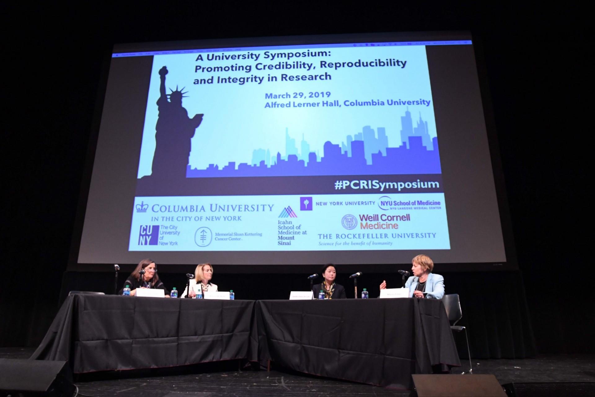 PCRI Symposium   Columbia   Research